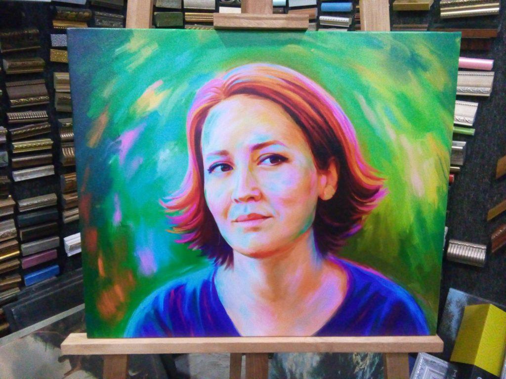 заказать арт портрет в Воронеже
