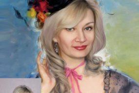 Заказать арт портрет по фото на холсте в Воронеже…