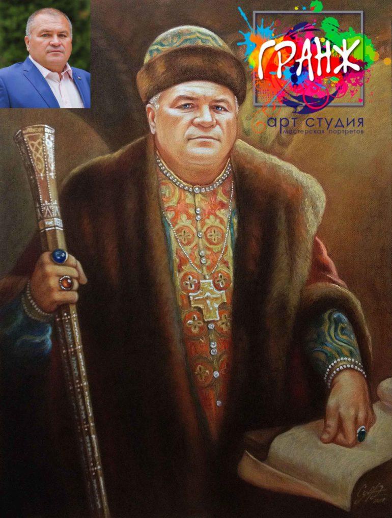 Заказать портрет маслом в Воронеже