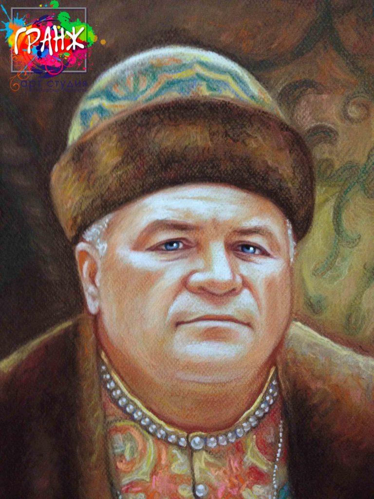 Заказать портрет маслом по фотографии в Воронеже