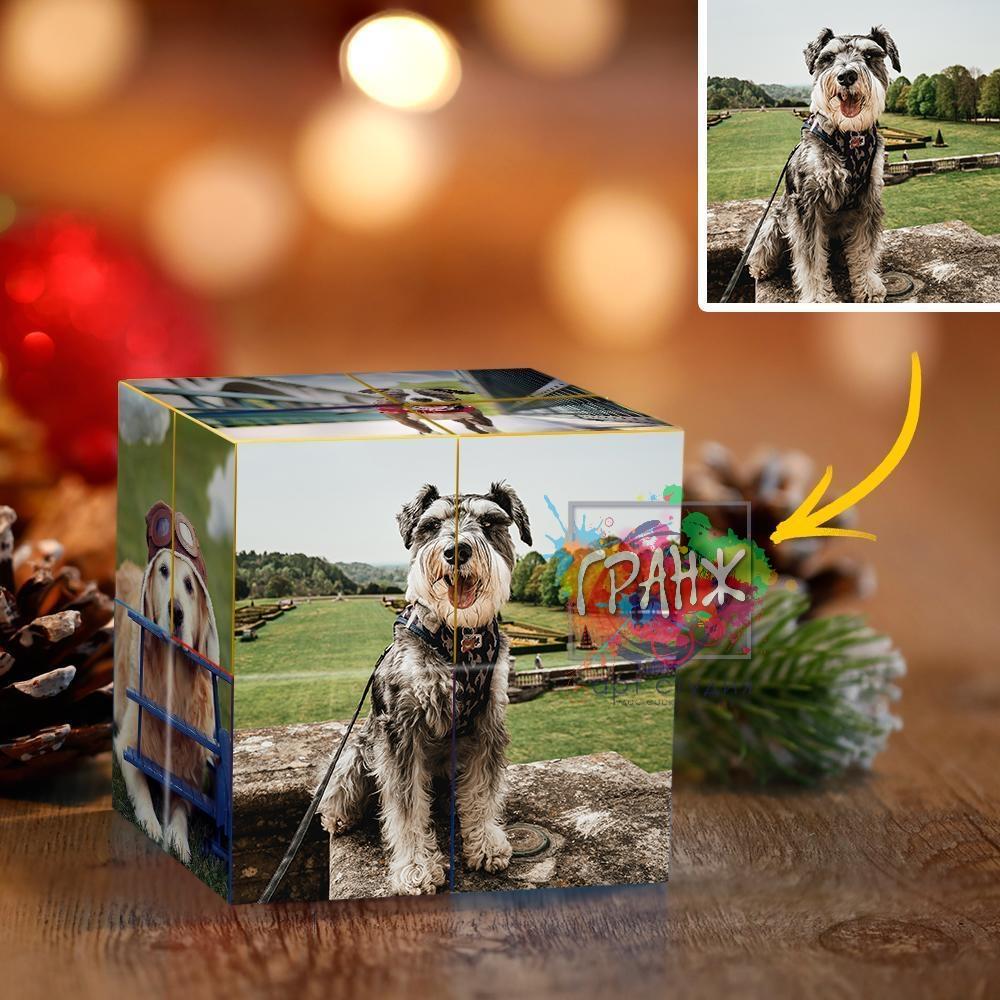 кубик с фотографиями на заказ